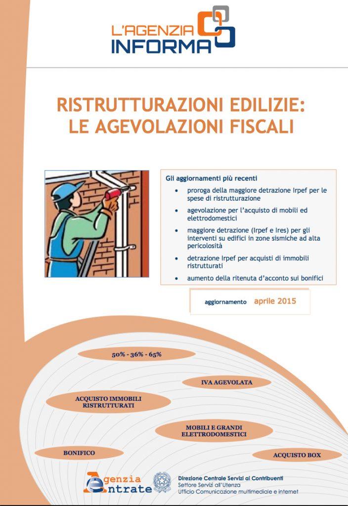 opuscolo detrazioni fiscali per ristrutturazioni