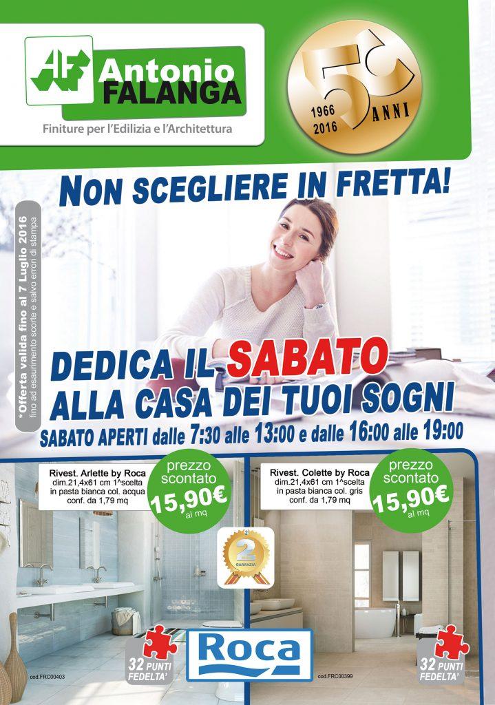 Volantino delle offerte Antonio Falanga s.r.l. Maggio-Luglio