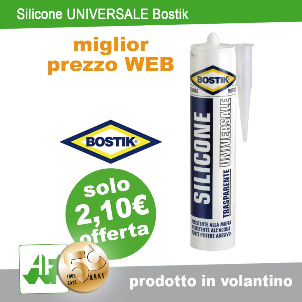 Silicone universale by BOSTIK